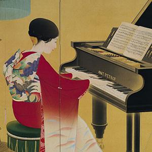 中村大三郎《ピアノ》 Piano