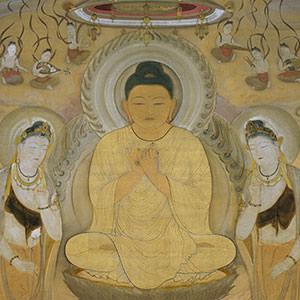 村上華岳《阿弥陀》 Amitabha, the Buddha of Infinite Light
