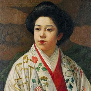 伊藤快彦《大奥の女中》 A Maid from the Inner Palace